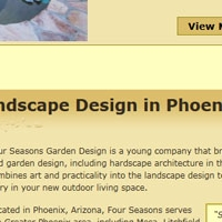 Four Seasons Garden Design Website Home