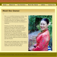 Four Seasons Garden Design Website Owner