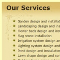 Four Seasons Garden Design Website Services